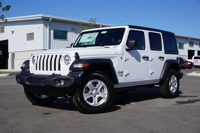 Jeep Wrangler Unlimited Sport >> New 2019 Jeep Wrangler Unlimited Sport S Sport Utility In Cape Coral