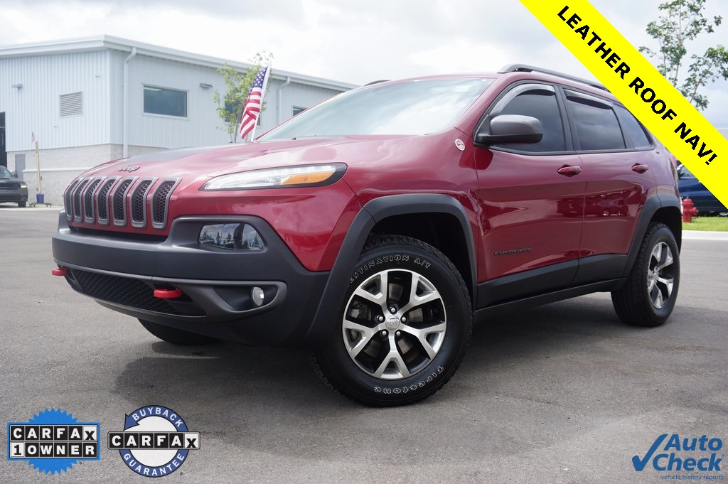 Certified Pre-Owned 2014 Jeep Cherokee Trailhawk