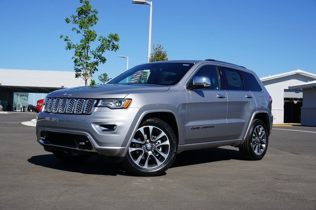 Jeep Grand Cherokee Overland >> New 2018 Jeep Grand Cherokee Overland 4x2