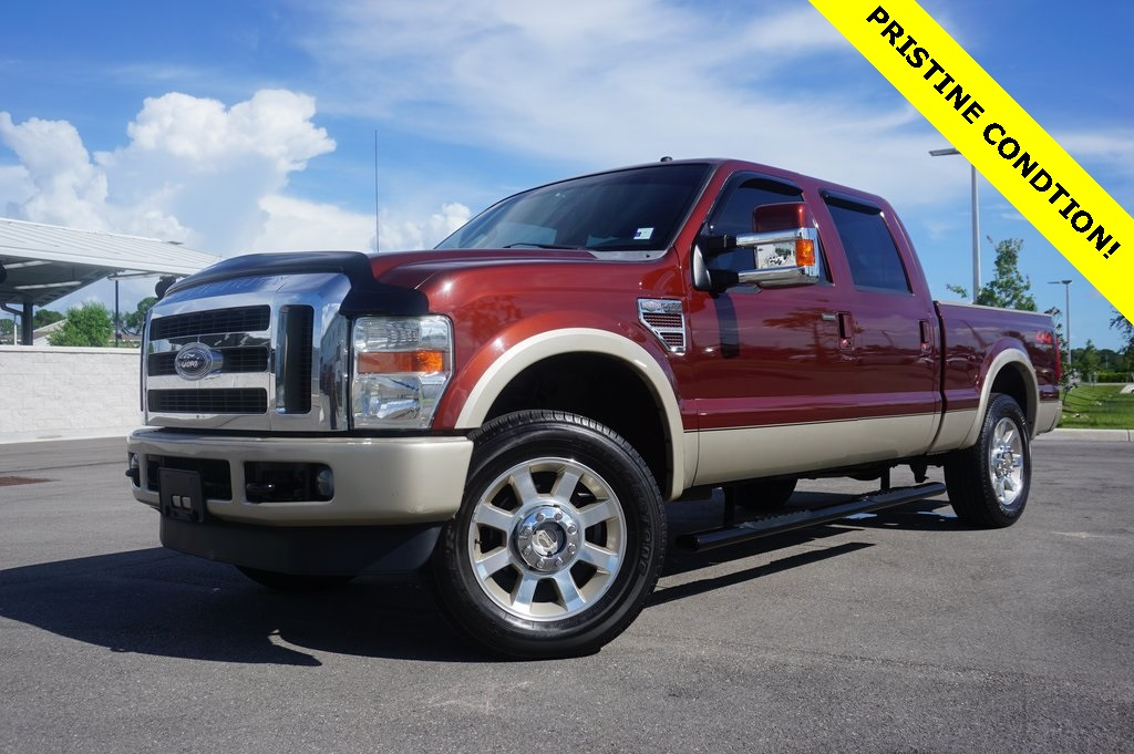 Pre-Owned 2008 Ford F-250SD Lariat