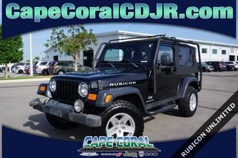 Pre-Owned 2006 Jeep Wrangler Unlimited Rubicon